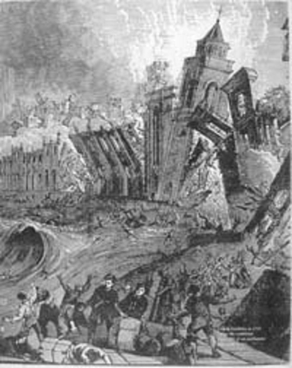 Portugal - Lisbon Earthquake 1755 Facts