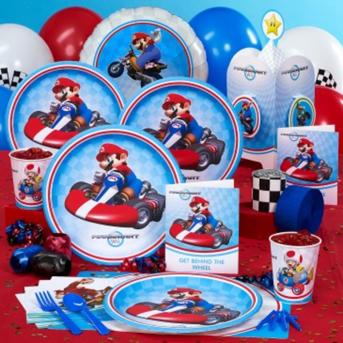 Mario Kart Party Supplies