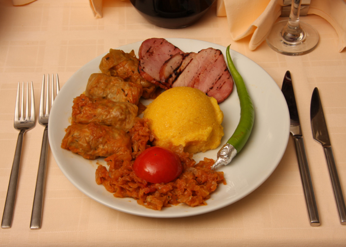 Sarmale is a traditional Romanian Food.