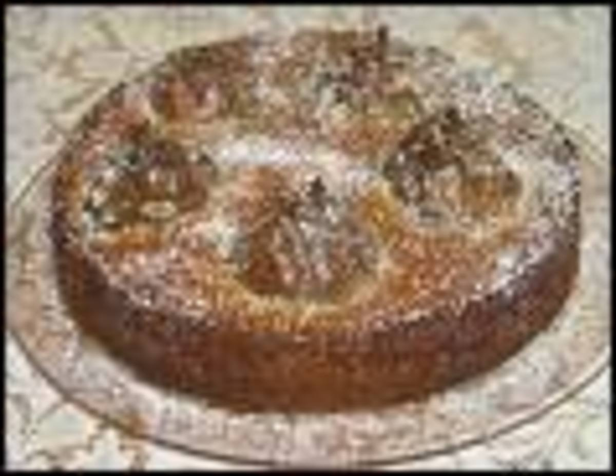 Genoa (almond) cake