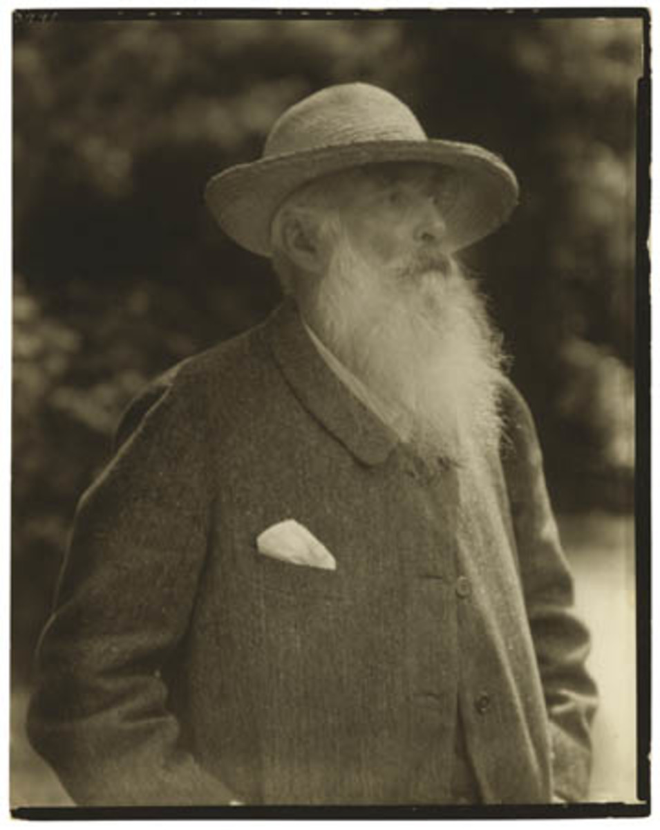 Claude Monet, the artist, oversaw everything at Giverny, and still was a prolific painter