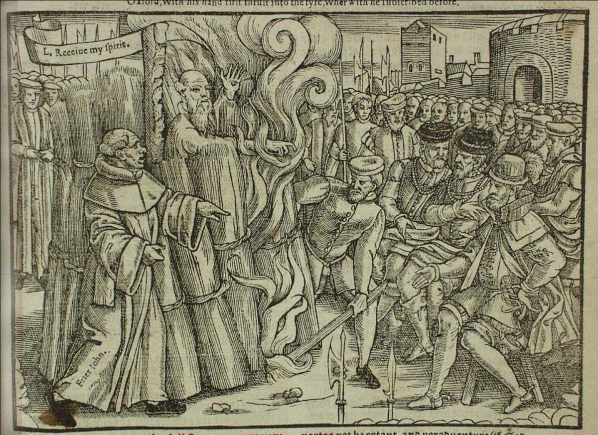 Cranmer's martyrdom
