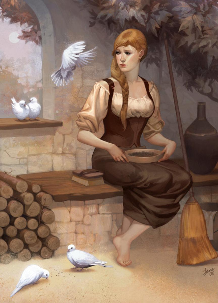 Cinderella / Aschenputtel by Janaschi at DeviantArt.com