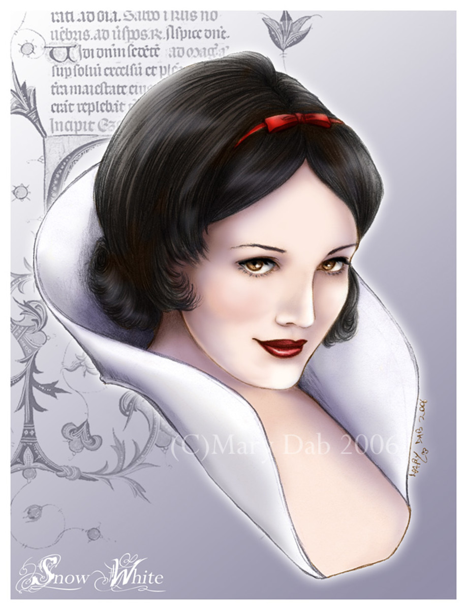 Snow White by Mary Dab at DeviantArt.com