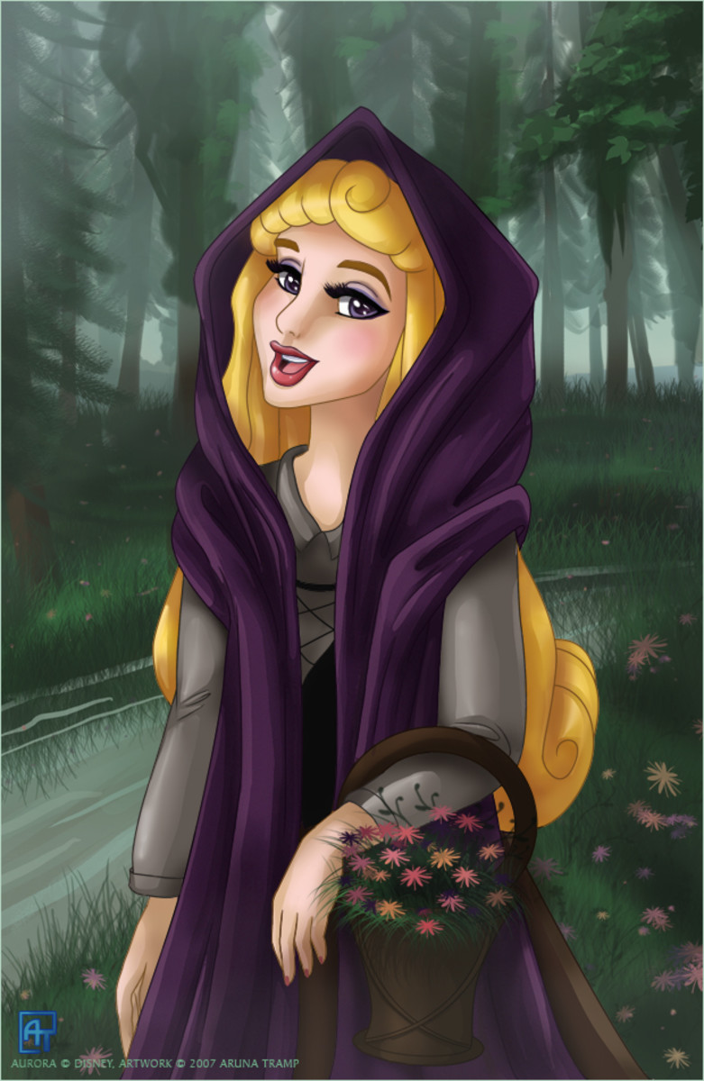 Princess Aurora by ArunaTramp at DeviantArt.com