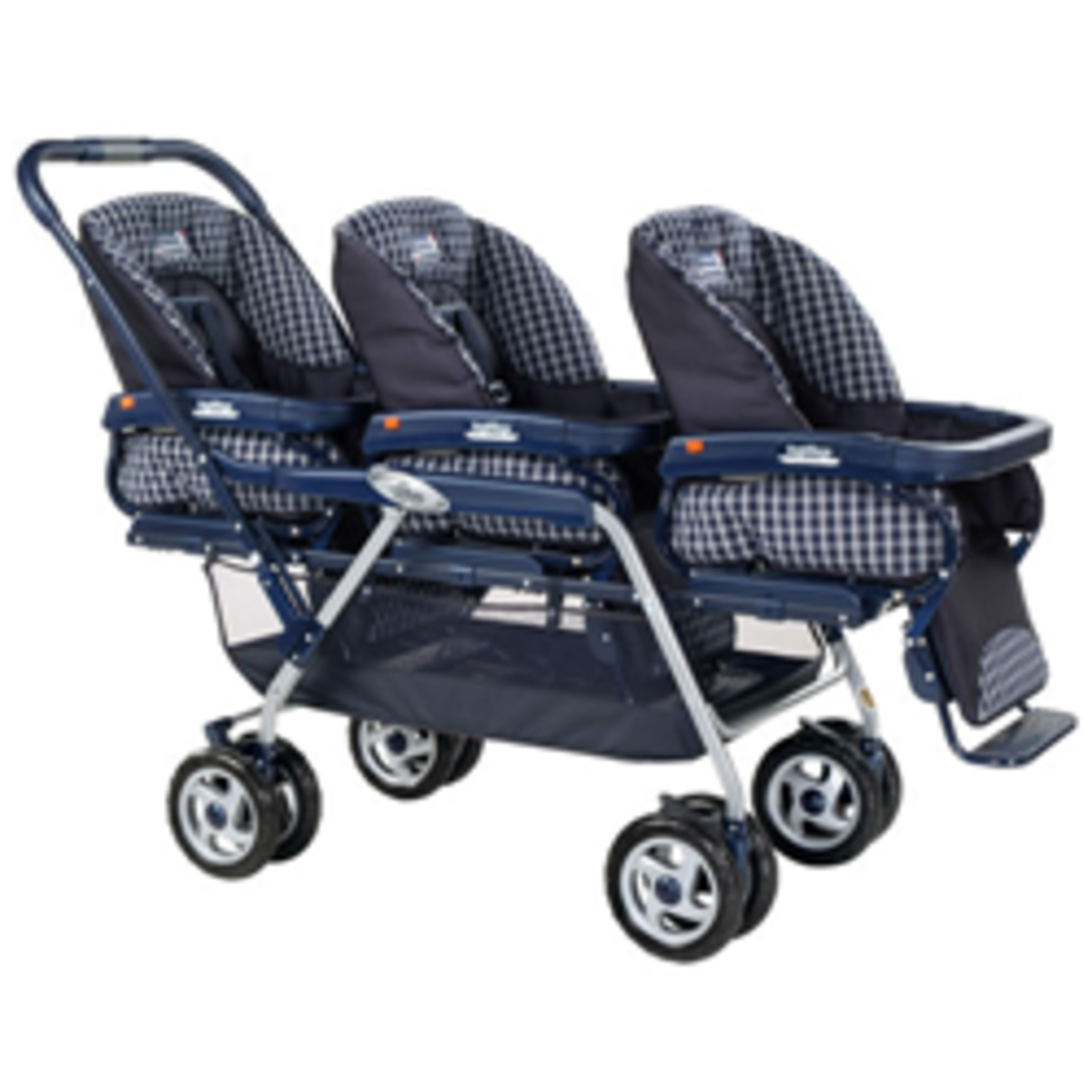Lightweight Triple Stroller