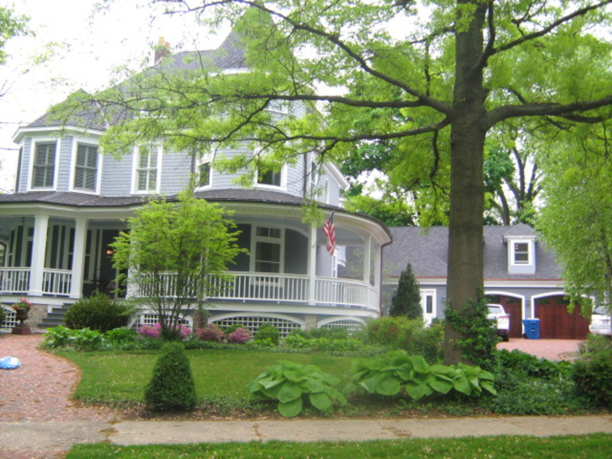 A large residence in Hinsdale