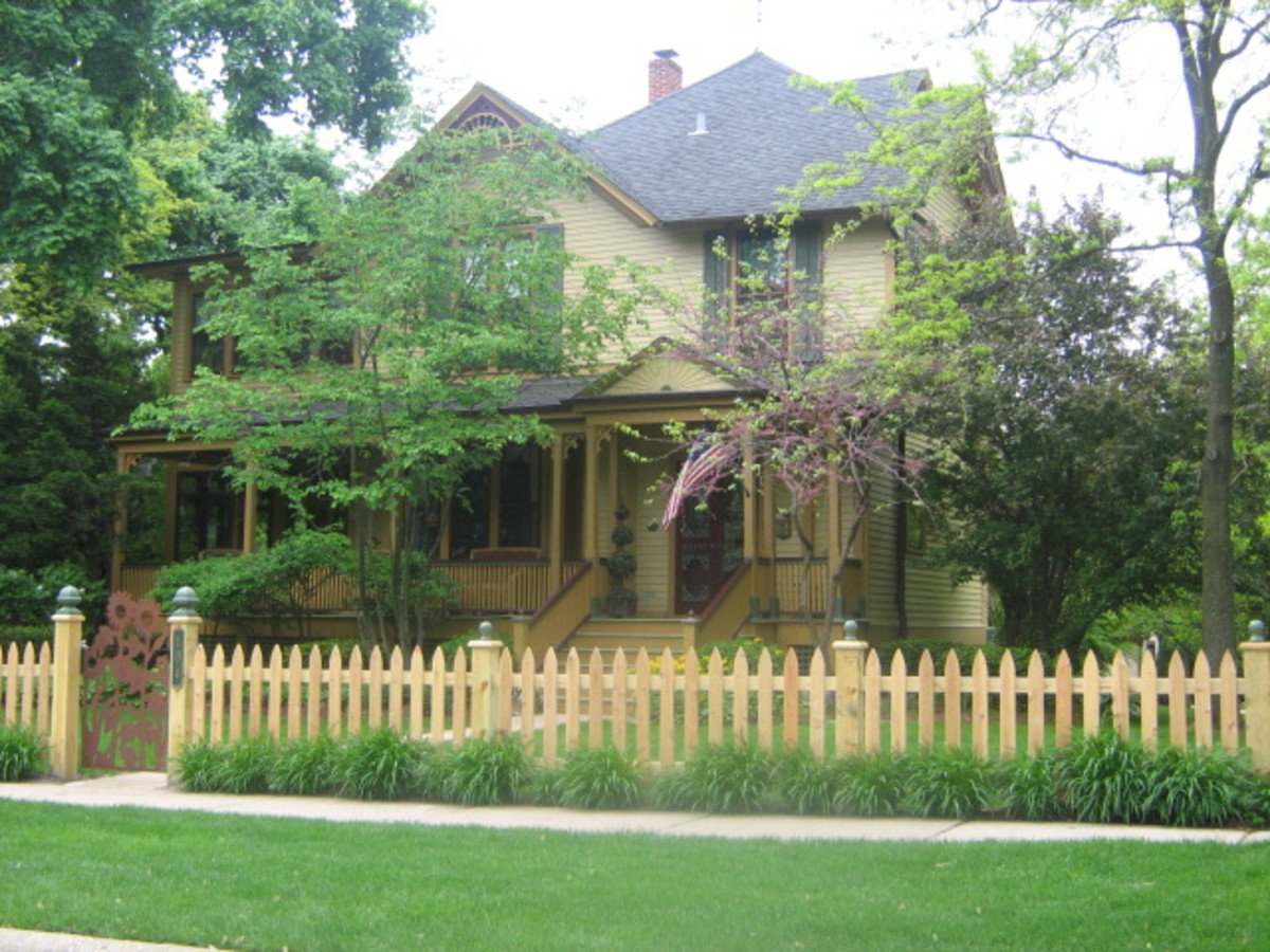 A large house in Hinsdale