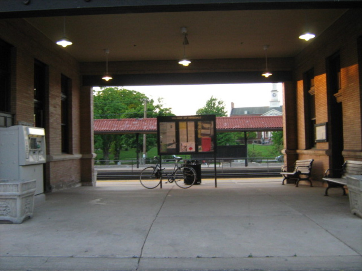 The Hinsdale Train Depot