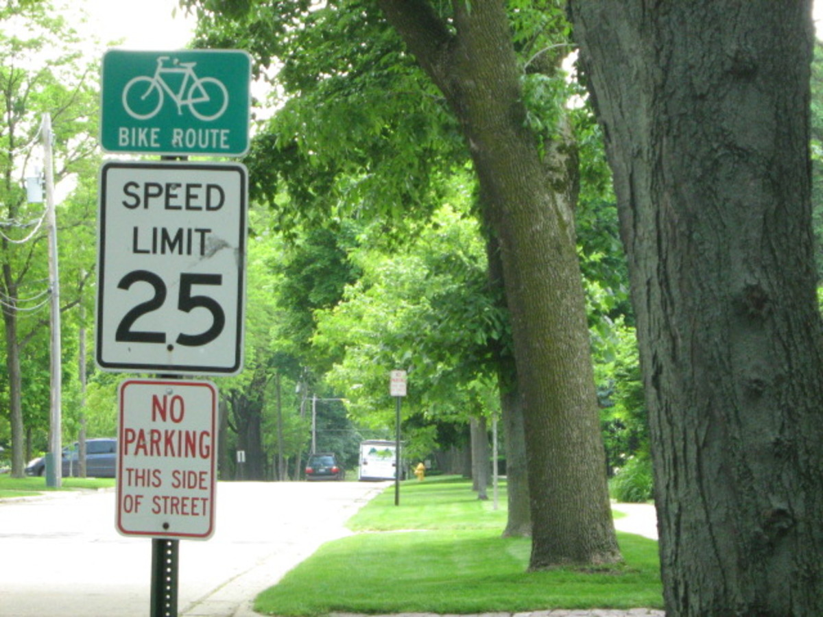 Following the low in-village speed limit of 25mph is wise in Hinsdale