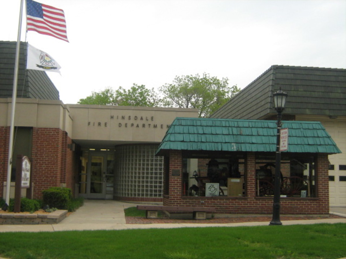 The home of the Hinsdale Fire Department