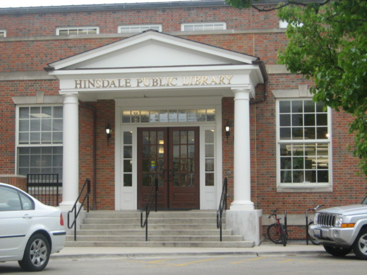Hinsdale's Public Library