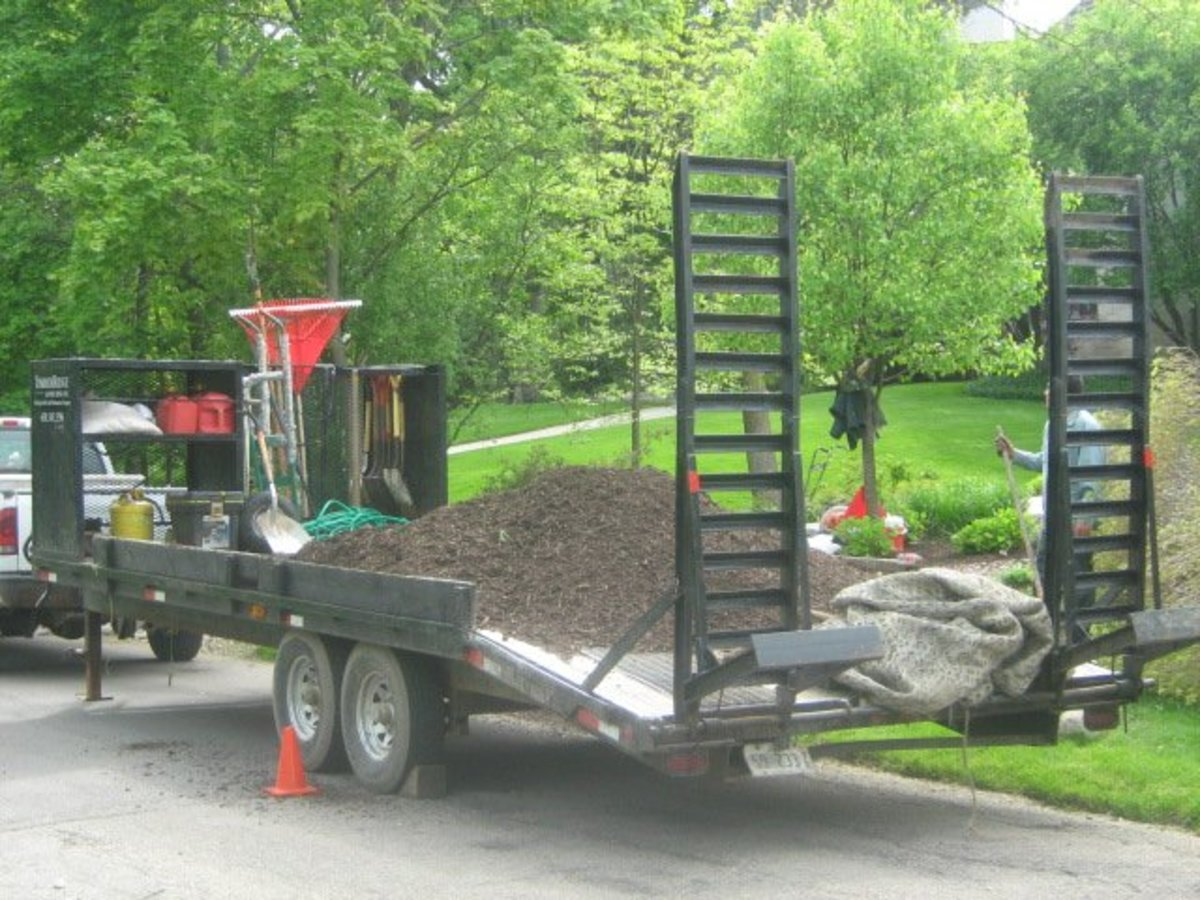 Hinsdale is a haven for landscaping companies as one finds landscaping equipment along streets all spring, summer, and fall