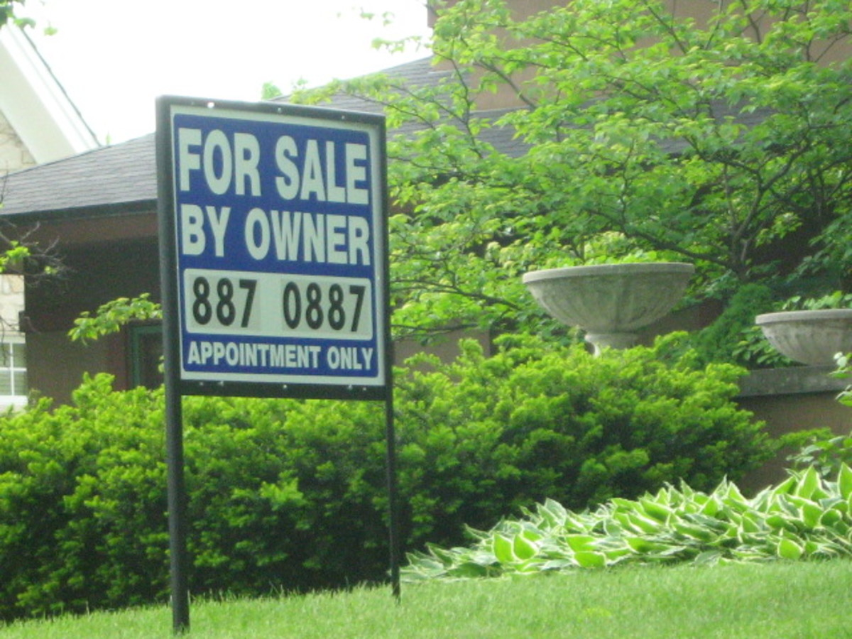 For Sale by Owner signage - as rarely found in Hinsdale