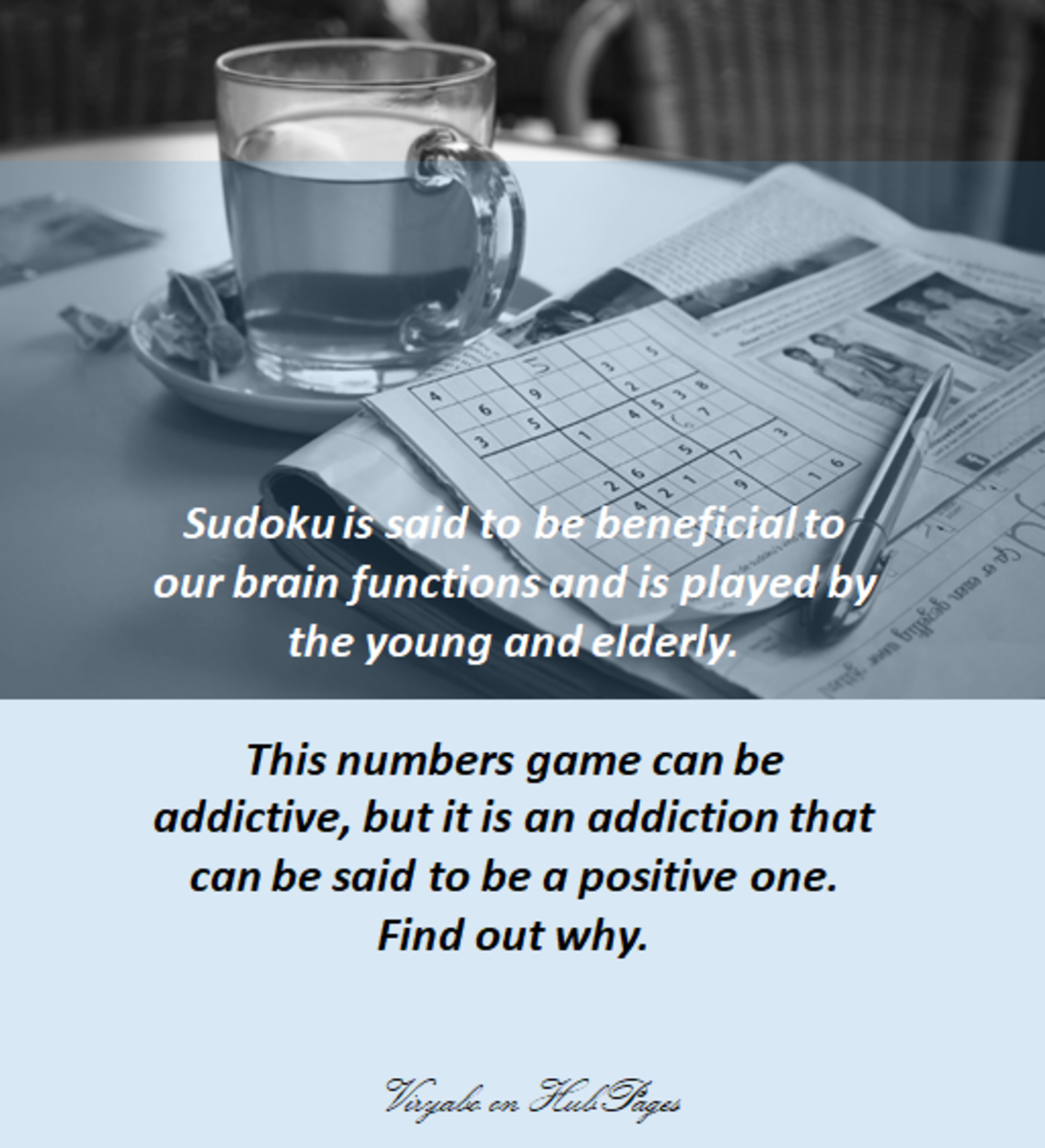 Sudoku is one of the most popular puzzle games that is strictly a logic-based combinatorial puzzle.