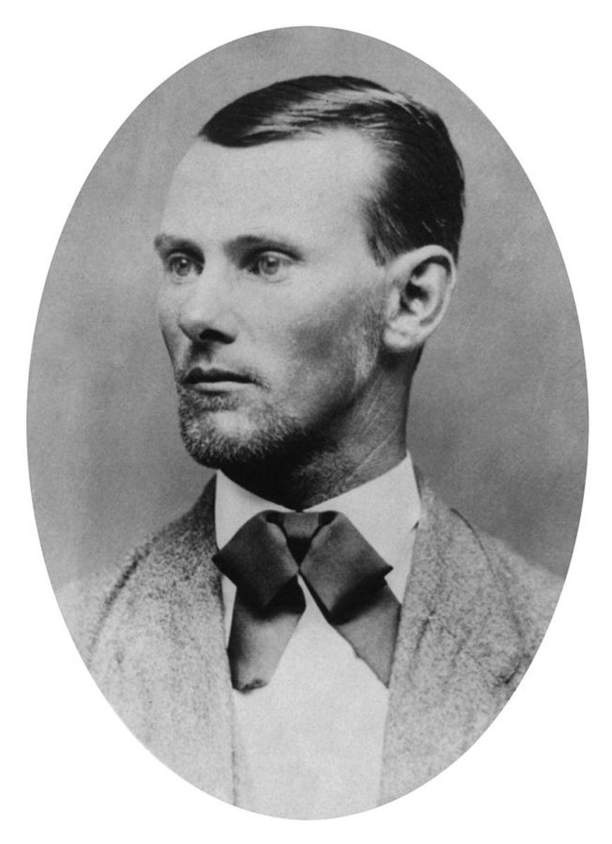 Jesse James Portrait