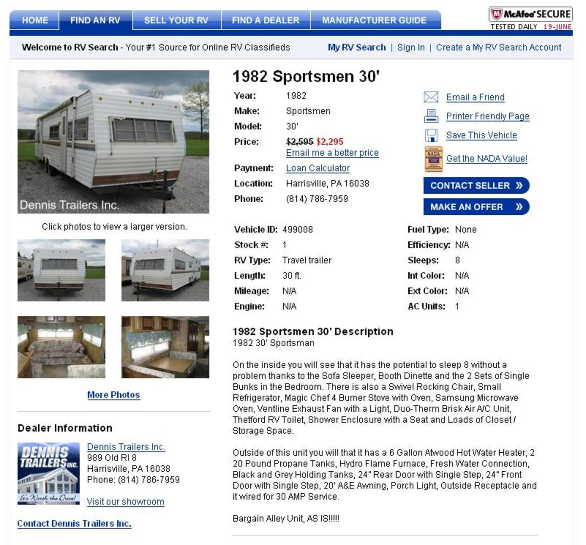 How to Find Cheap Used Travel Trailers For Sale Online