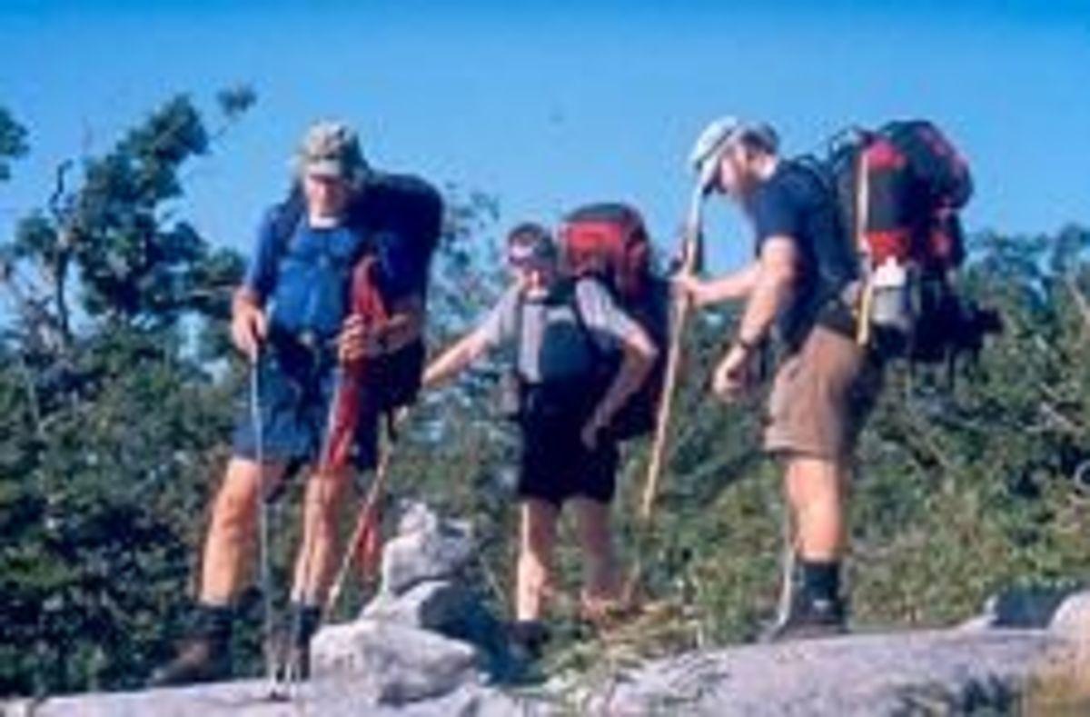 Thru-Hikers on the Appalachian Trail