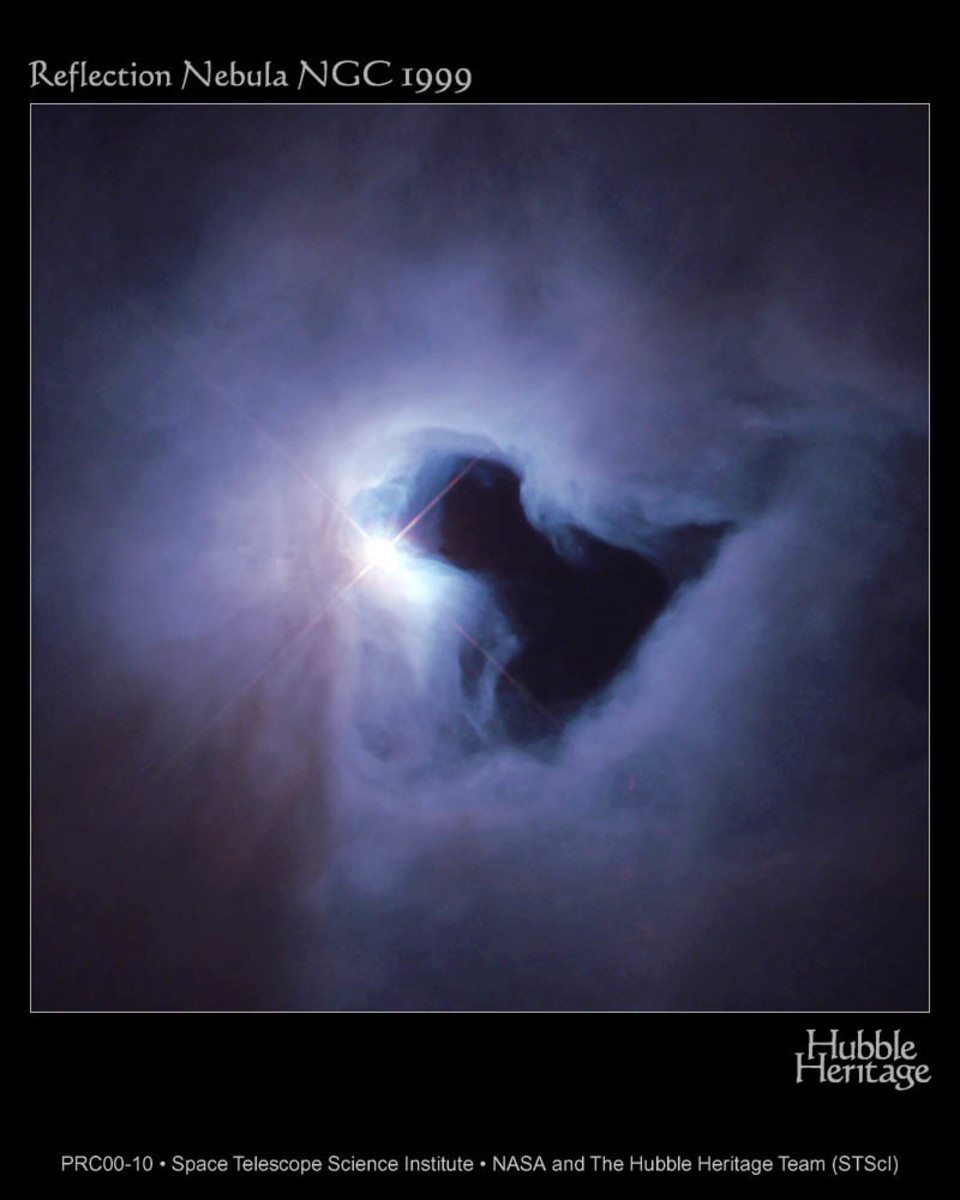 AN IMAGE OF MAN IN THIS NEBULA?