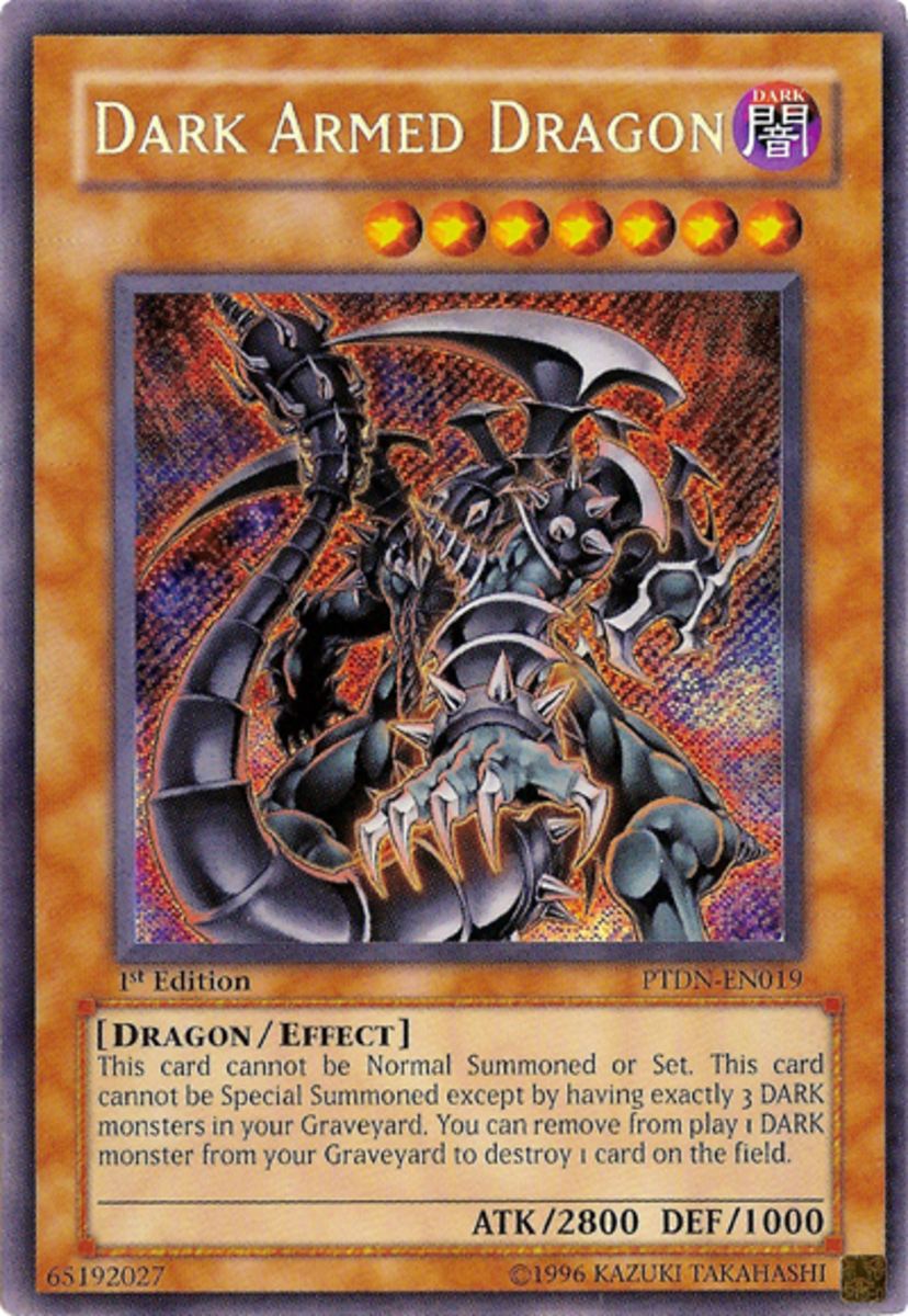 A very powerful Yu-gi-oh dragon card