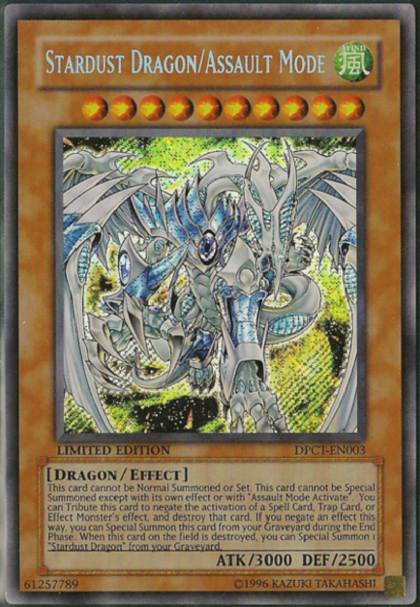 Stardust Dragon Card - The New Synchro Monster