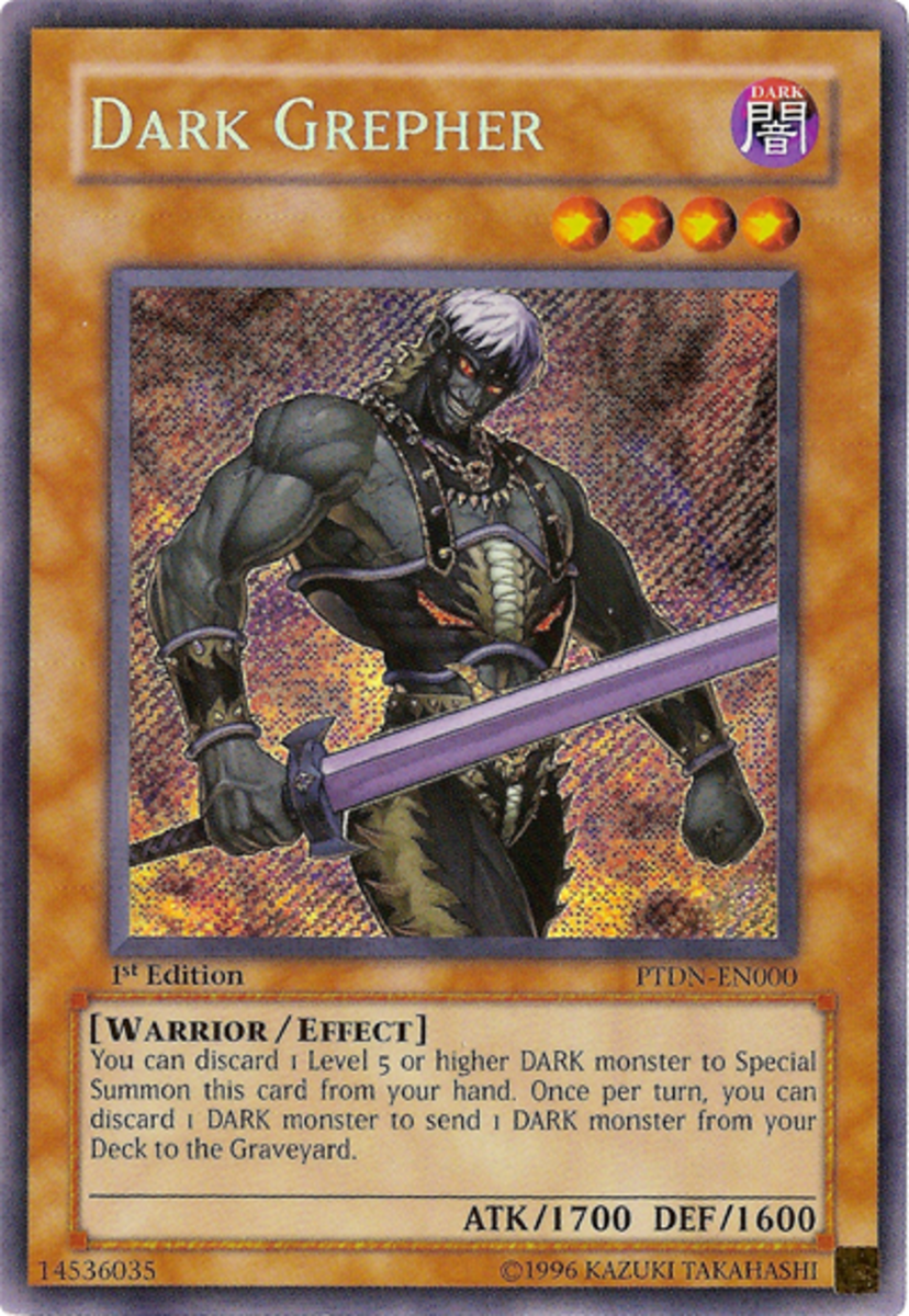Dark Grepher Card