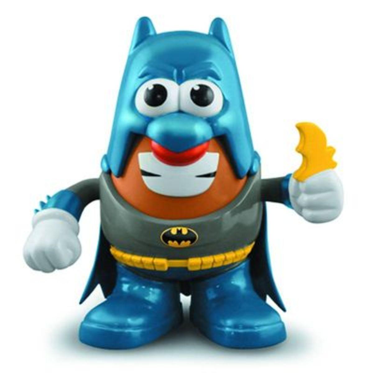 Mr Potato Head DC Spuds Classic Batman