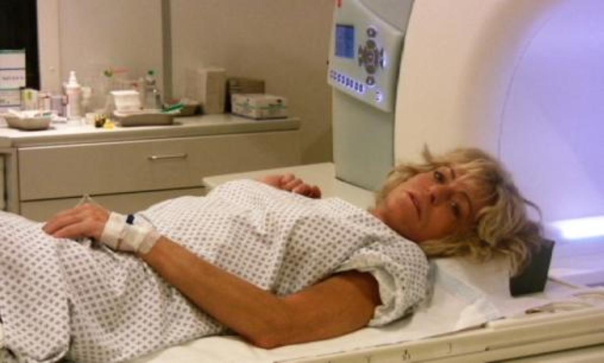 Painful liver laser treatment
