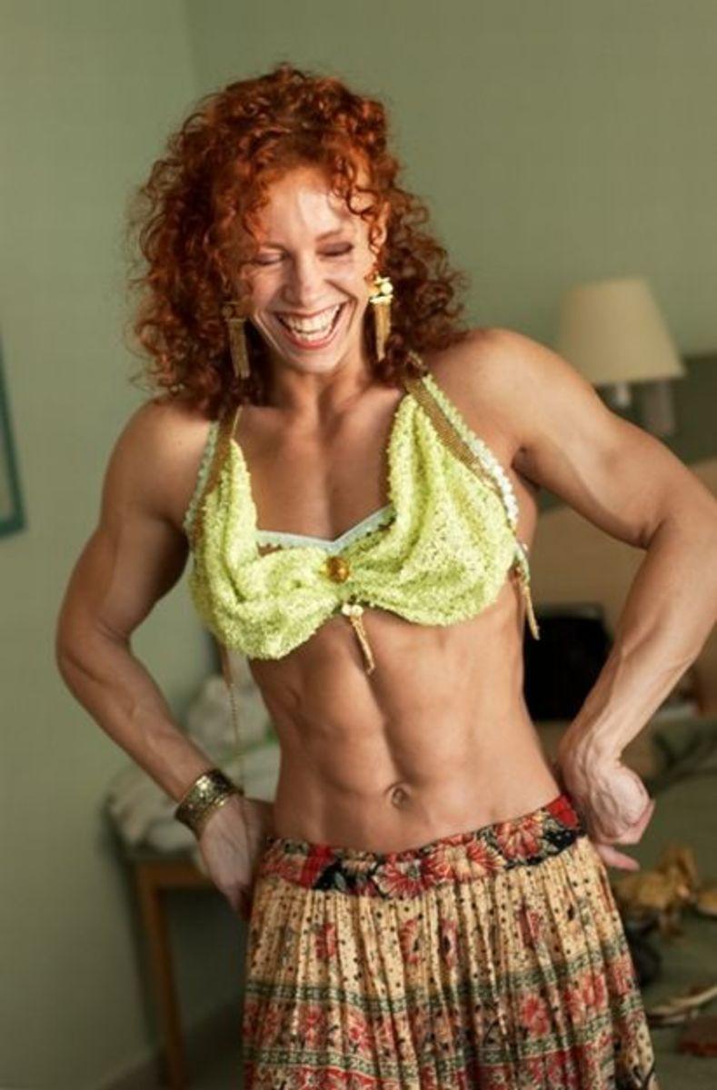 Elena Shportun - female fitness models