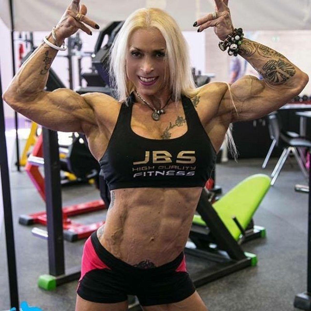 Spanish bodybuilder Paloma Parra