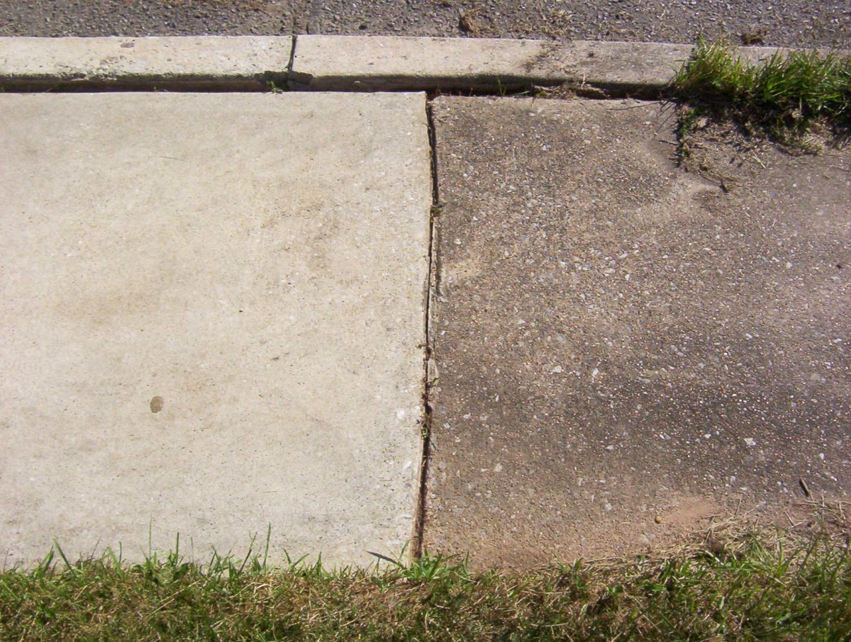 Power Wash the Sidewalk - You Can See the Difference
