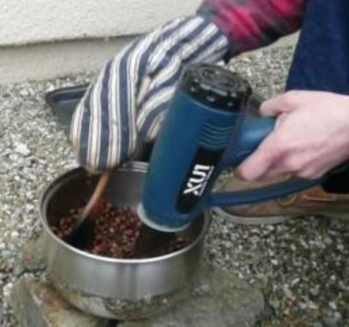 How to Roast Coffee Beans at Home with a Heat Gun