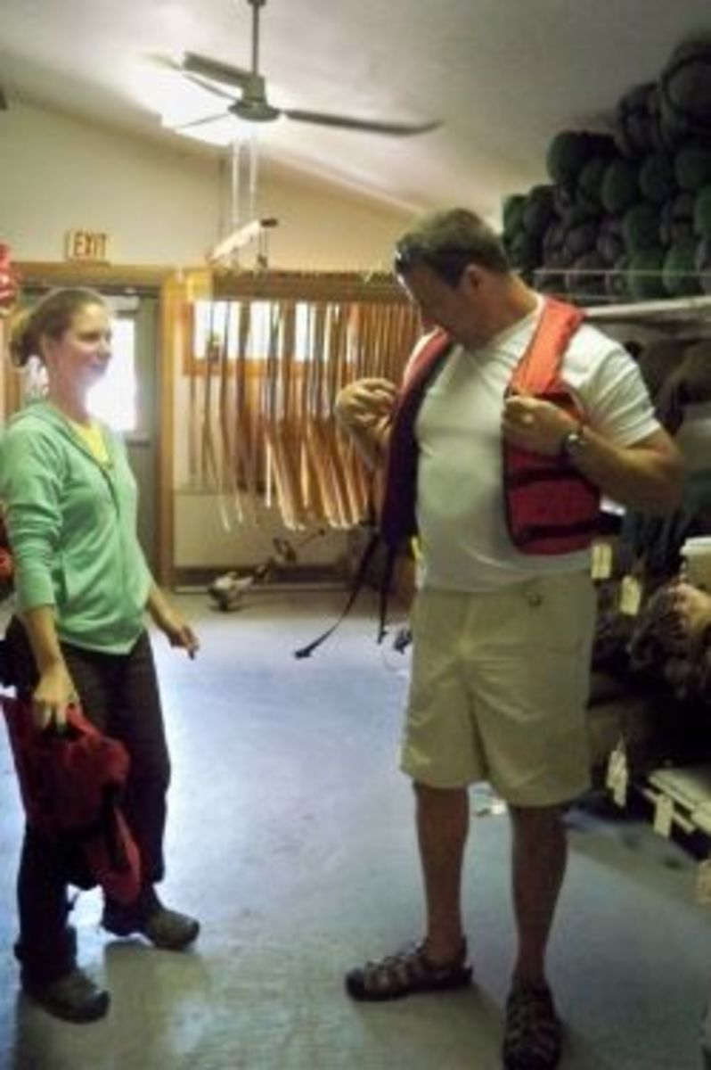 Gearing Up for Canoeing in the Boundary Waters -- at Gunflint Lodge