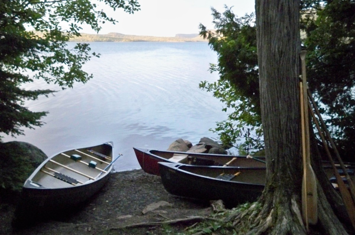 Canoe-camping in the Boundary Waters