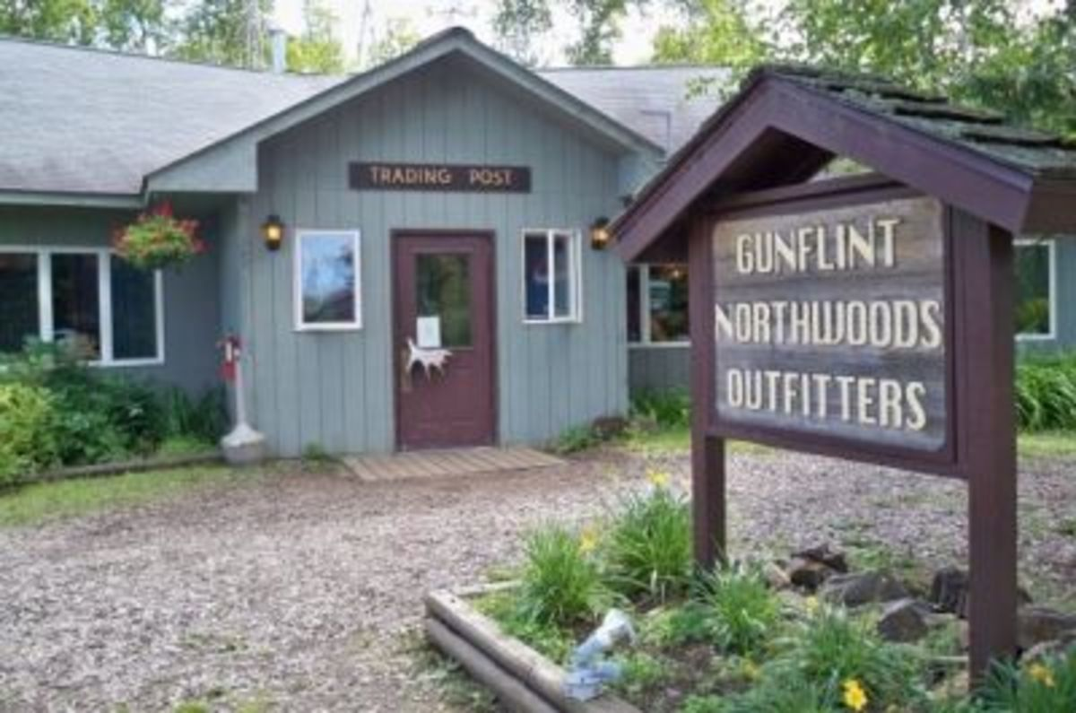 Gunflint Outfitters and Gunflint Lodge on the shores of ... you guessed it: Gunflint Lake. I highly recommend these folks.