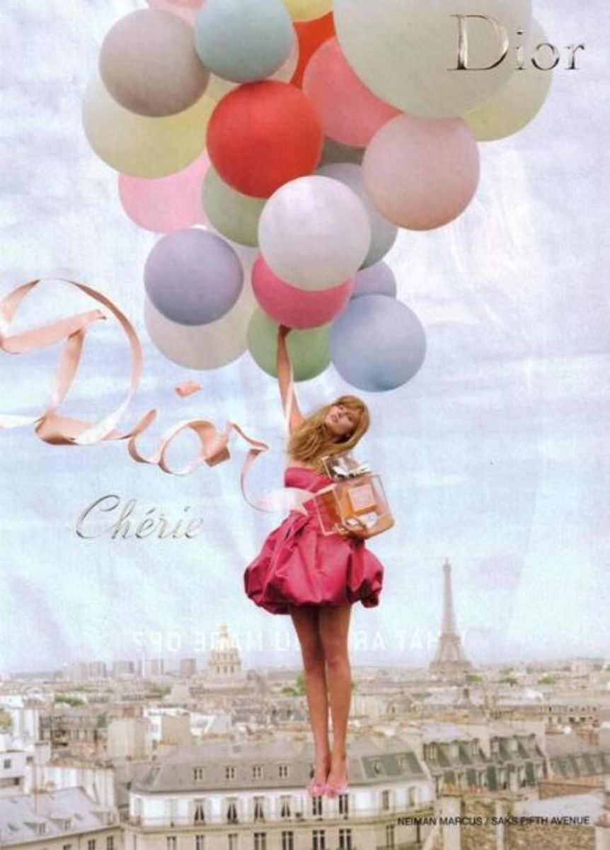 Miss Dior Cherie, the signature scent of Katie Holmes