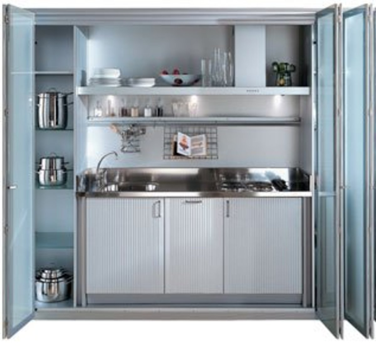 Find small kitchen ideas from places like Ikea