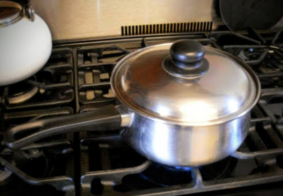 Have a pot of water on to boil, or have your steamer heating.