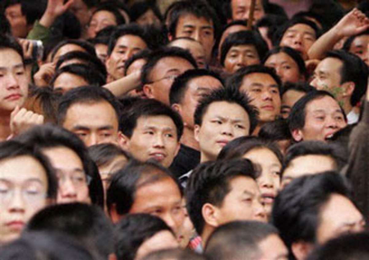 Are large populations a blessing or a curse for a nation?