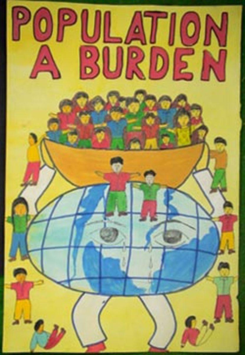 Burdening earth