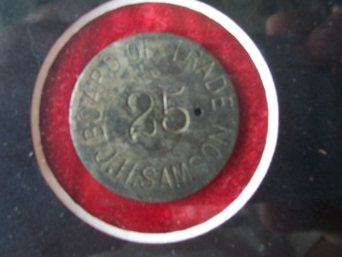 "Early ""Good For"" Trade Tokens- Metal Detecting the Unknown Collectible"