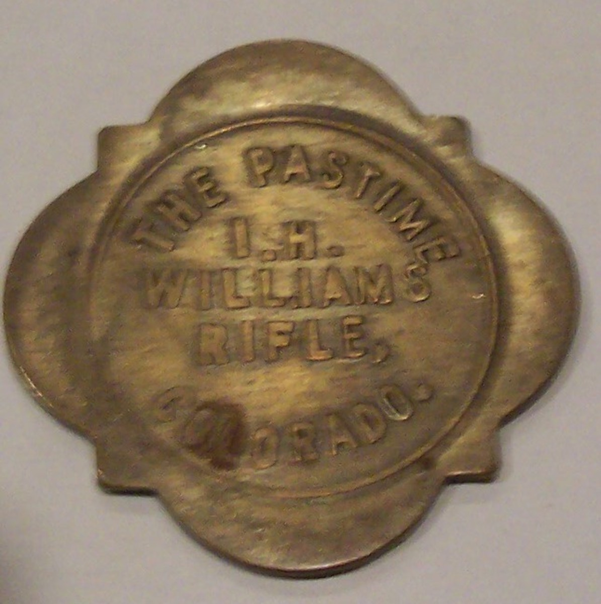 Bar Token from Colorado