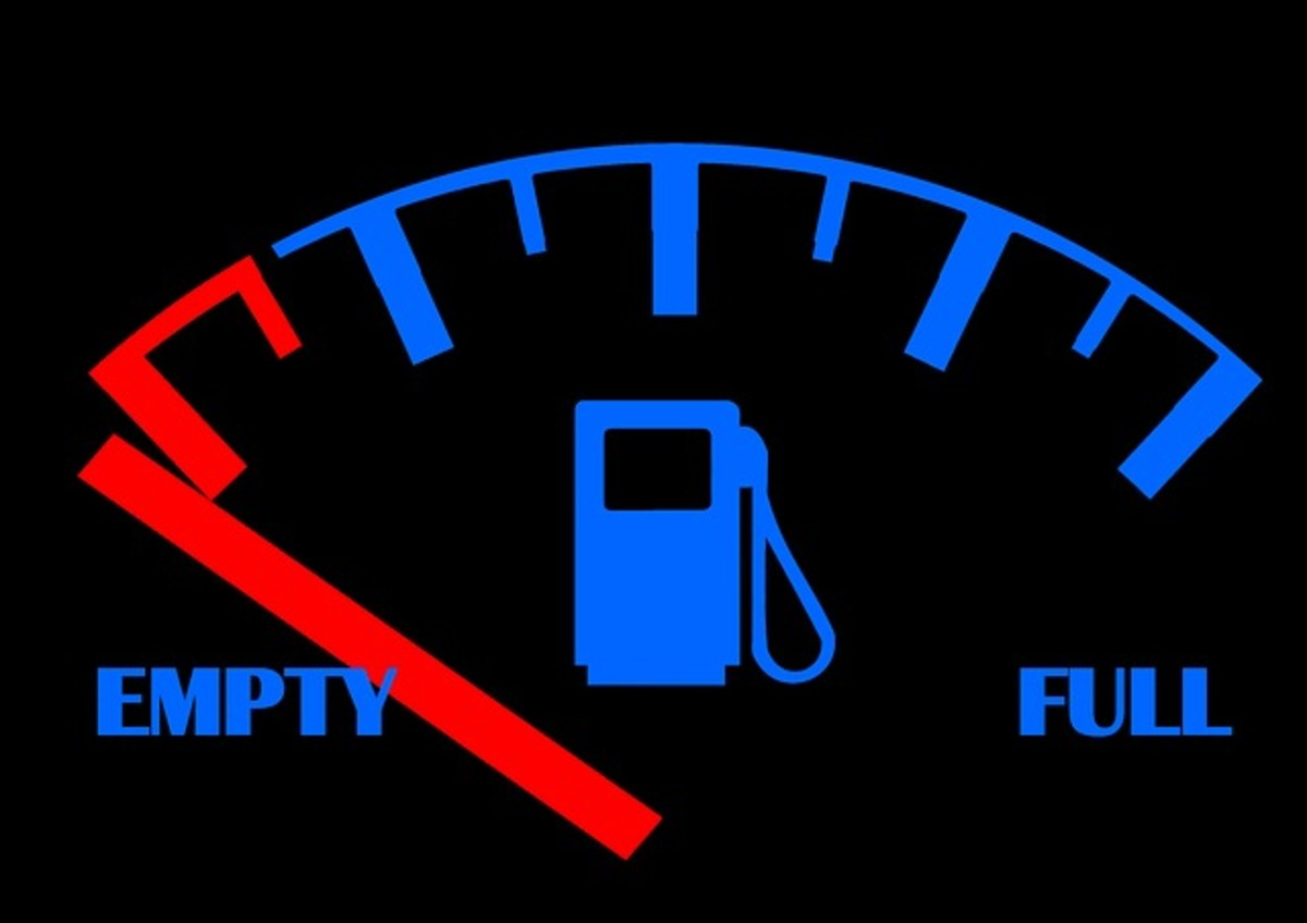 Gas tank empty? Learn how to start your car.