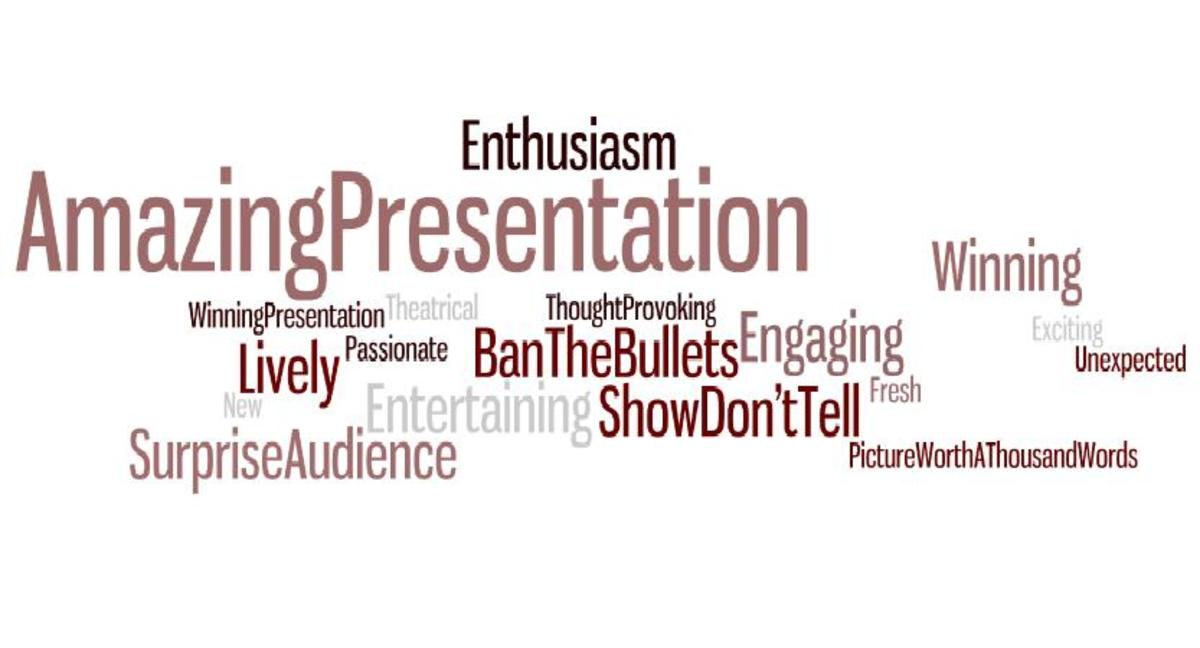 Amazing Presentations, Key Word Clouds and How to Avoid Death by PowerPoint (ppt)