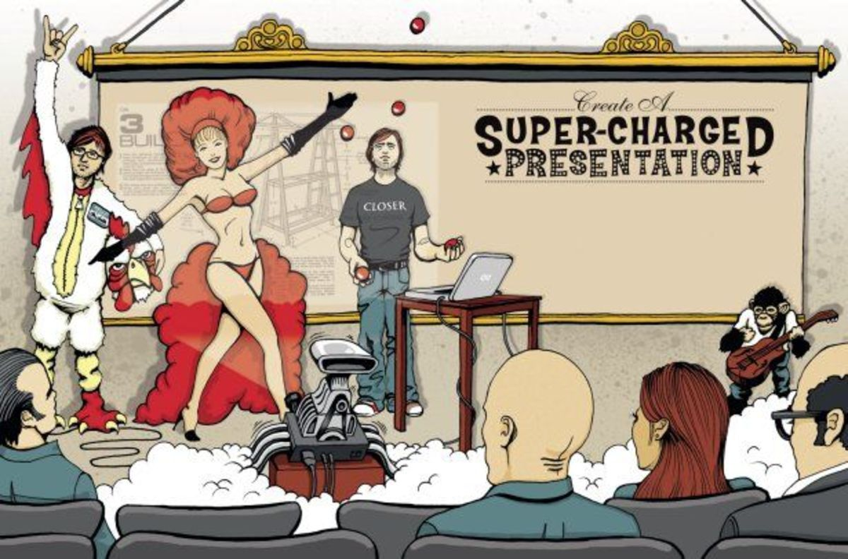 Amazing Presentations, Keyword Clouds and How to Avoid Death by PowerPoint - Now it's Your Turn!