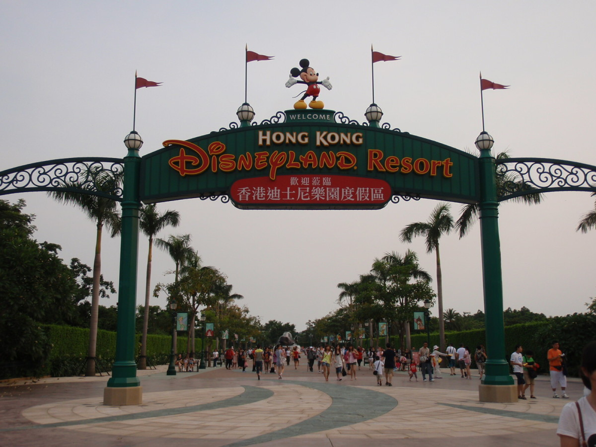 Hong Kong Disneyland Escapade