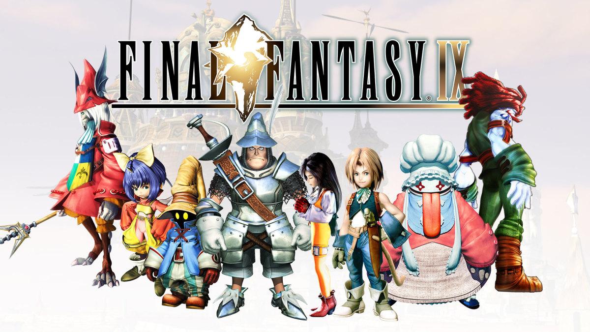 Final Fantasy 9 characters designed by Toshiyuki Itahana