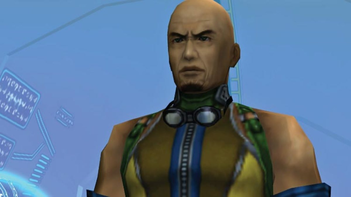 Cid of Final Fantasy 10 designed by Tetsuya Nomura