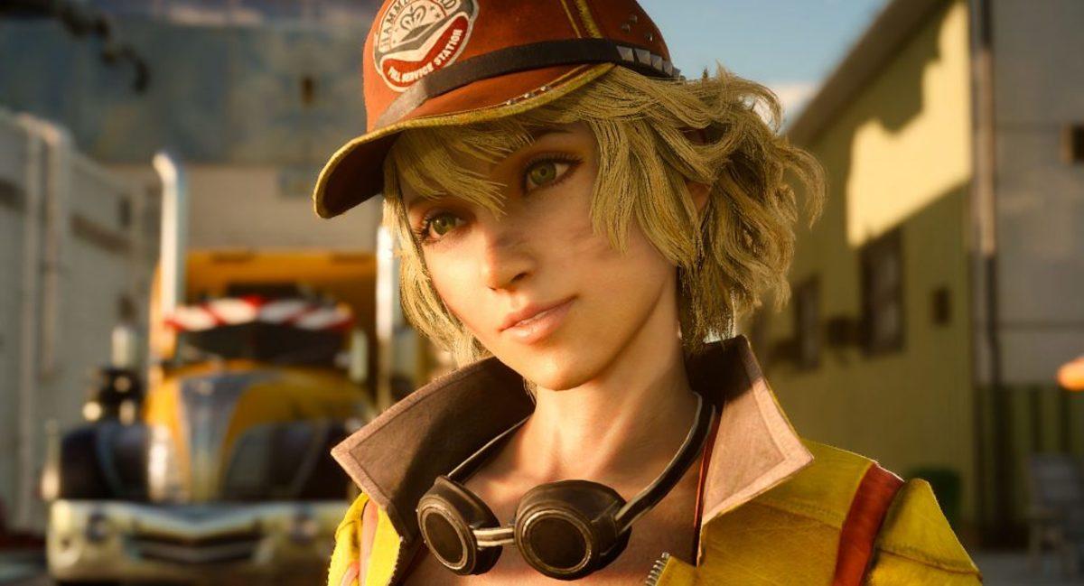 Cindy Aurum of Final Fantasy 15 designed by Roberto Ferrari