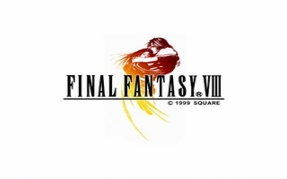 Final Fantasy 8 promotional art from Square/Enix
